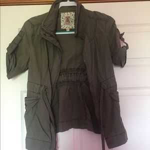 Decree Jackets & Coats - Olive jacket